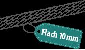Flach 10mm