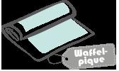 Waffelpique