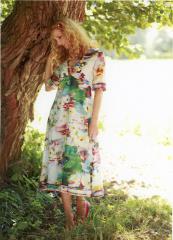 Schnittmuster - Kleid mit V-Ausschnitt - 02-598 - Pattern Company