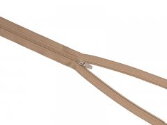Reißverschluss YKK - kamel - 12-60cm - unteilbar