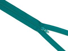Reißverschluss YKK - türkisblau - 60cm - unteilbar 60 cm