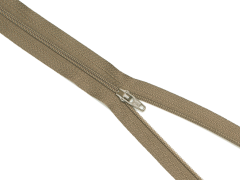 Reißverschluss YKK - mittelbraun - 60cm - unteilbar 60 cm