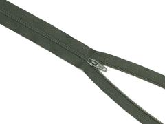 Reißverschluss YKK - oliv - 12-60cm - unteilbar