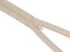 Reißverschluss YKK - sand - 12-60cm - unteilbar