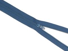 Reißverschluss YKK - jeansblau - 12-60cm - unteilbar