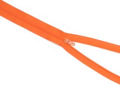 Reißverschluss YKK - orange - 12-60cm - unteilbar