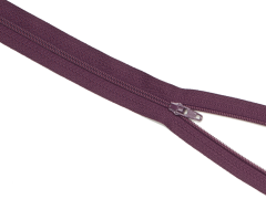 Reißverschluss YKK - aubergine - 50cm - unteilbar 50 cm