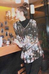 Schnittmuster - A-linienförmiges Shirt mit Smok-Effekt- Pattern Company