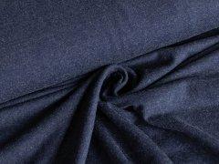 Jersey - Viskose - marineblau - melange