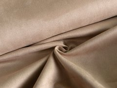 Veloursleder - Imitat - scuba - sand