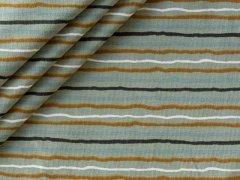 Jersey Single - gewellte Streifen - Stenzo - grün-grau - navy