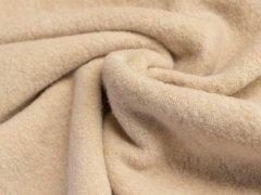BIO Baumwoll Teddy - Albstoffe - sand