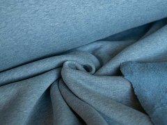 Alpenfleece - uni - jeans meliert