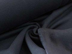 Alpenfleece - uni - schwarz  meliert