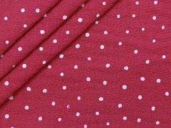 Musselin - Double Gauze - Punkte - pink
