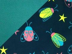 Softshell - Käfer - dunkelblau