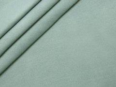 Reststück 0,60m - BIO Fleece  - mint dunkel