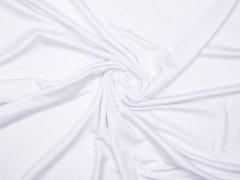 Reststück 1,10m - Modal Tencel Jersey - uni -weiß