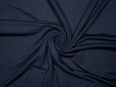 Modal Tencel Jersey - uni - dunkelblau