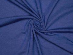 Reststück 0,65m - Modal Tencel Jersey - uni - royalblau