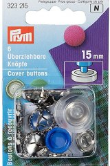 Knöpfe - überziehbar - Prym - 15mm