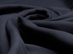 BIO Jersey Interlock - Linnea - nachtblau