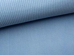 Bündchen Hipster Grobstrick - uni - hellblau