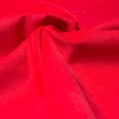 Feincord - Stretch - einfarbig - rot hell