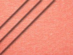 Leinen - melange - glatt - rot