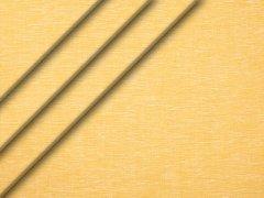 Leinen - glatt - melange - gelb