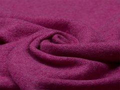 Reststück 0,55m Merino SOFT - Strick - pink