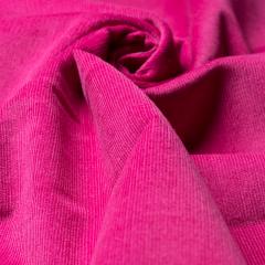 Feincord - Stretch - einfarbig - pink