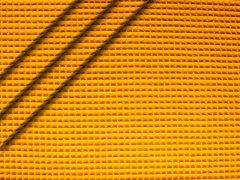 Baumwoll Waffelpiqué - gelb