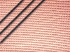 Baumwoll Waffelpiqué - hellrosa