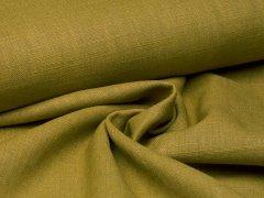 Reststück 0,65m - Leinen - glatt - moosgrün