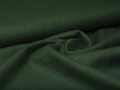 Leinen - glatt - dunklegrün