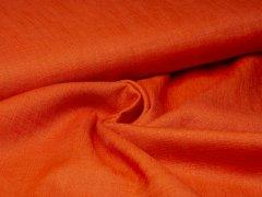 Leinen - glatt - orange