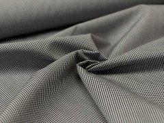 Baumwolle - Karo - schwarz - grau - weiß