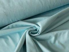 BIO Jersey Single - hellblau - einfarbig