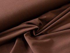 BIO Jersey Single - dunkel - brau - einfarbig
