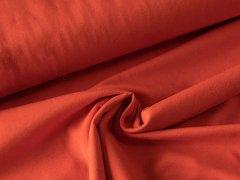 BIO Jersey Single - terracotta - einfarbig