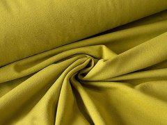 BIO Jersey Single - olivgrün - einfarbig