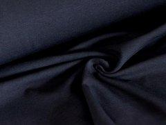 BIO Jersey Single - schwarz - einfarbig