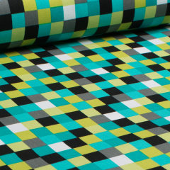 Baumwolle - Check Out Schachbrett - Michael Miller - USA Designer