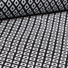 Baumwolle - Spot weiße Rauten - Michael Miller - USA Designer