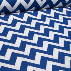 Reststück 1,10m - Baumwolle - Remix Lime - Zacken - Robert Kaufman - USA Designer - blau