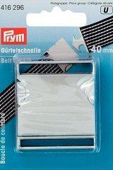 Gürtelschnalle - 40 mm - Prym - silber