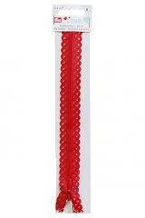Reißverschluss Prym - rot - 20cm - unteilbar