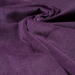 Feincord - Stretch - einfarbig - aubergine