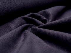 Reststück 0,70m - Feincord - Stretch - einfarbig - dunkelblau